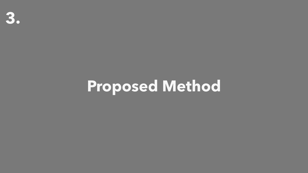 3. Proposed Method