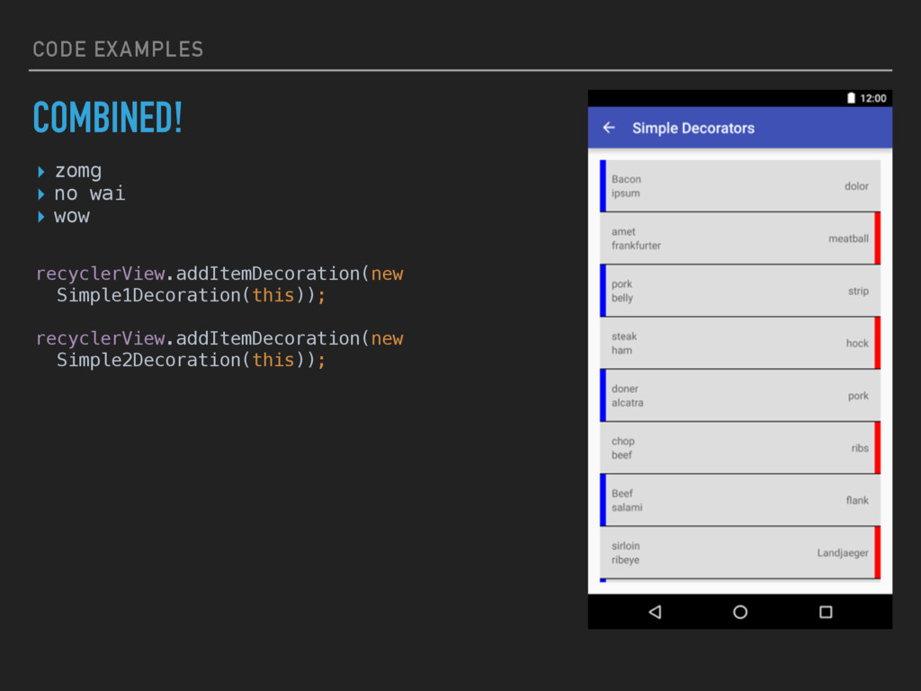 CODE EXAMPLES COMBINED! ▸ zomg ▸ no wai ▸ wow r...
