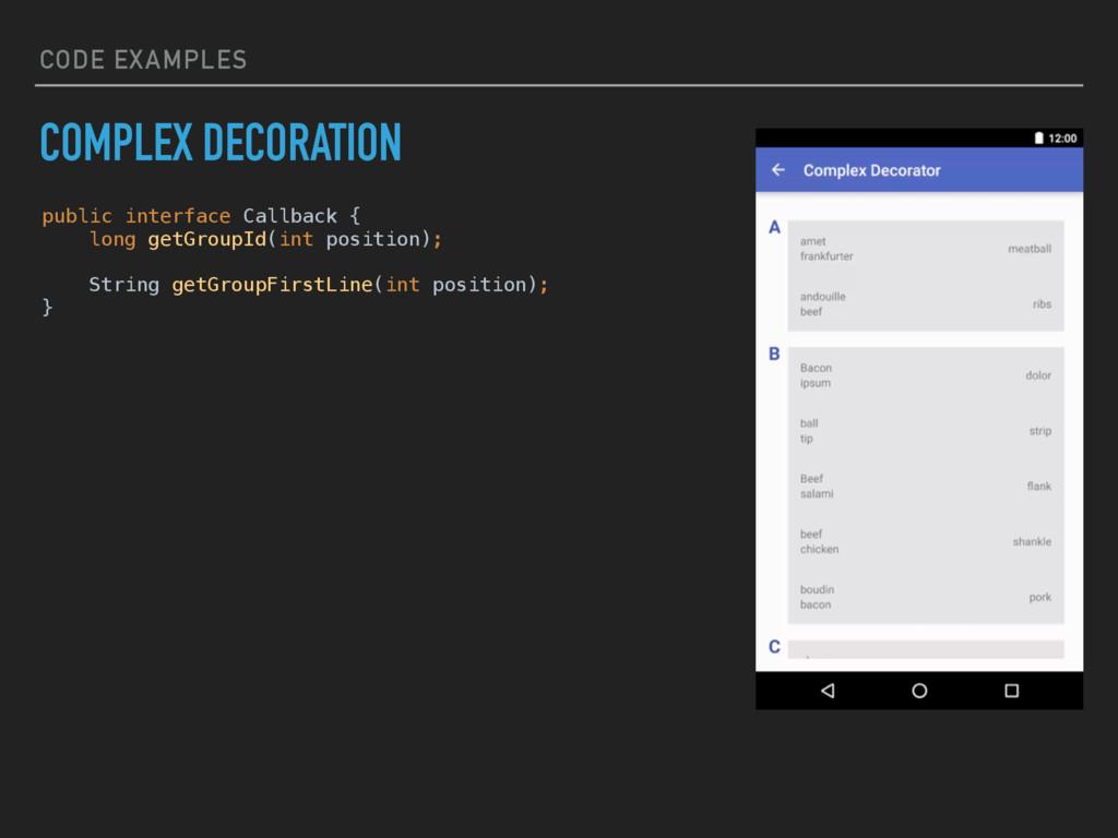 public interface Callback { long getGroupId(in...