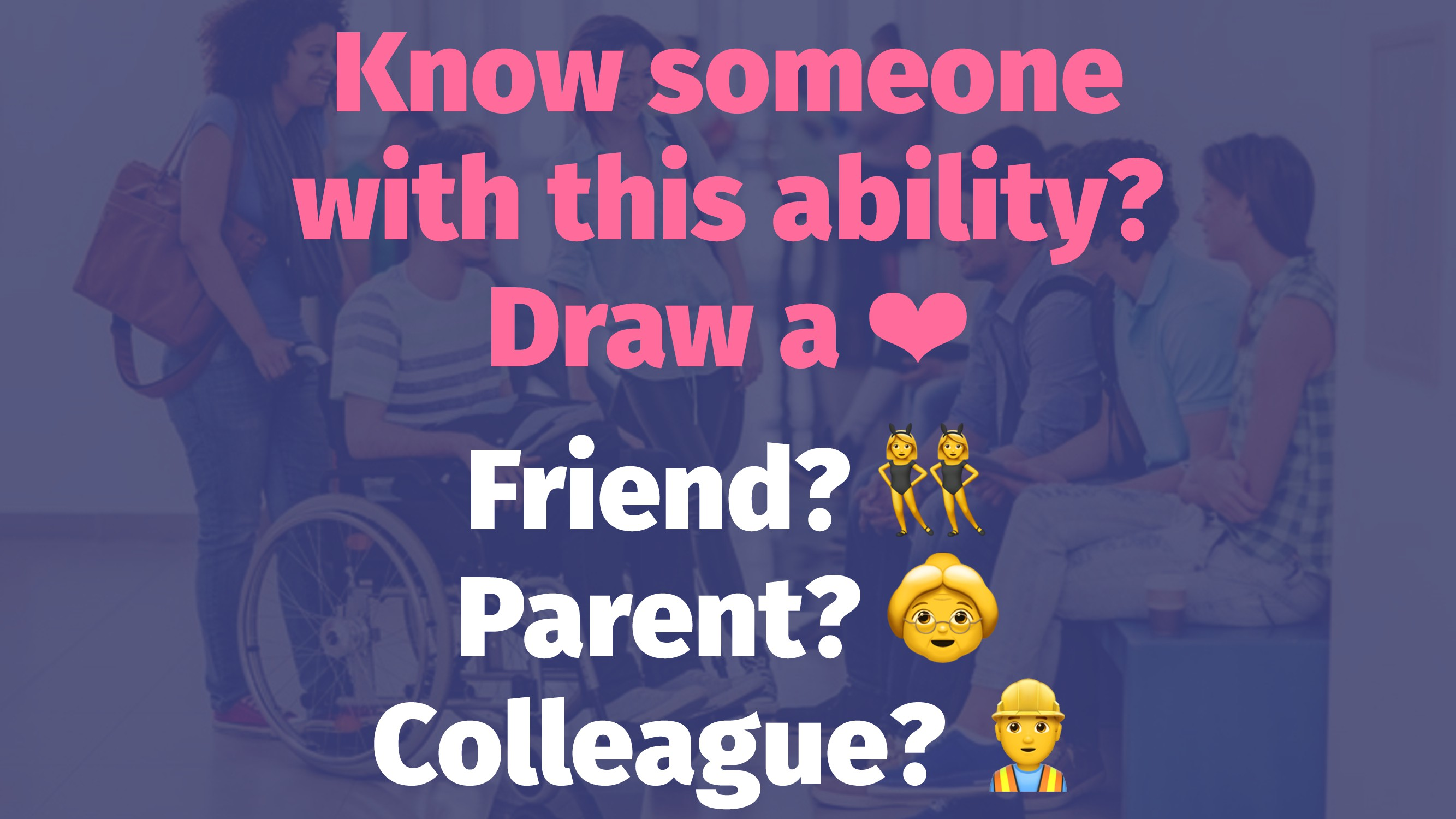 Know someone with this ability? Draw a ❤ Friend...
