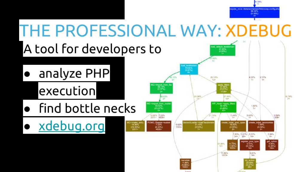 THE PROFESSIONAL WAY: XDEBUG A tool for develop...