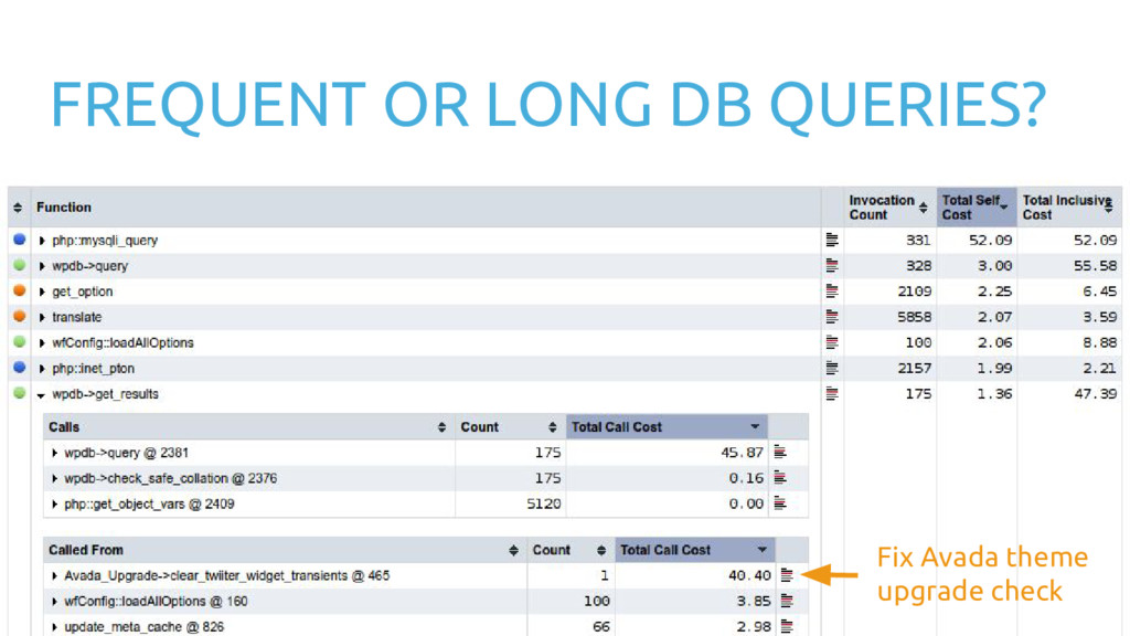 FREQUENT OR LONG DB QUERIES? Fix Avada theme up...
