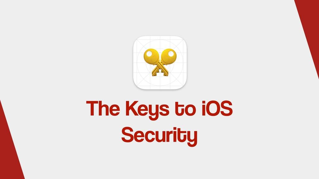 The Keys to iOS Security