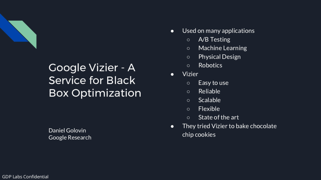 Google Vizier - A Service for Black Box Optimiz...