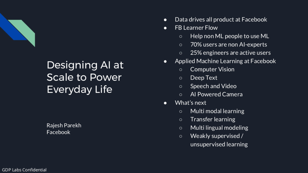 Designing AI at Scale to Power Everyday Life Ra...