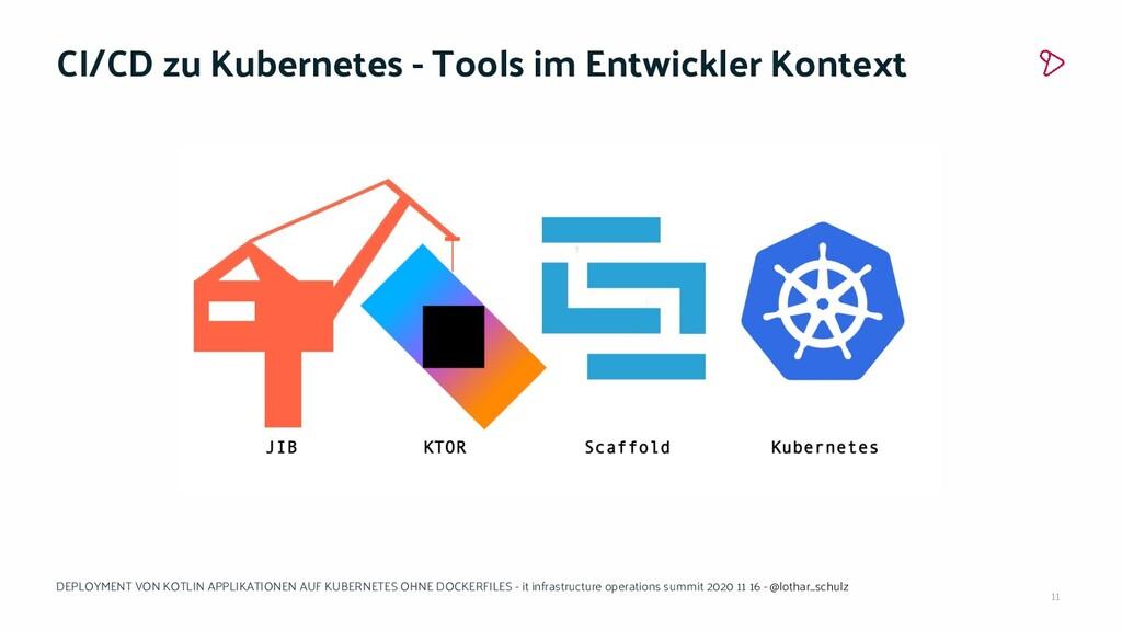 11 CI/CD zu Kubernetes - Tools im Entwickler Ko...