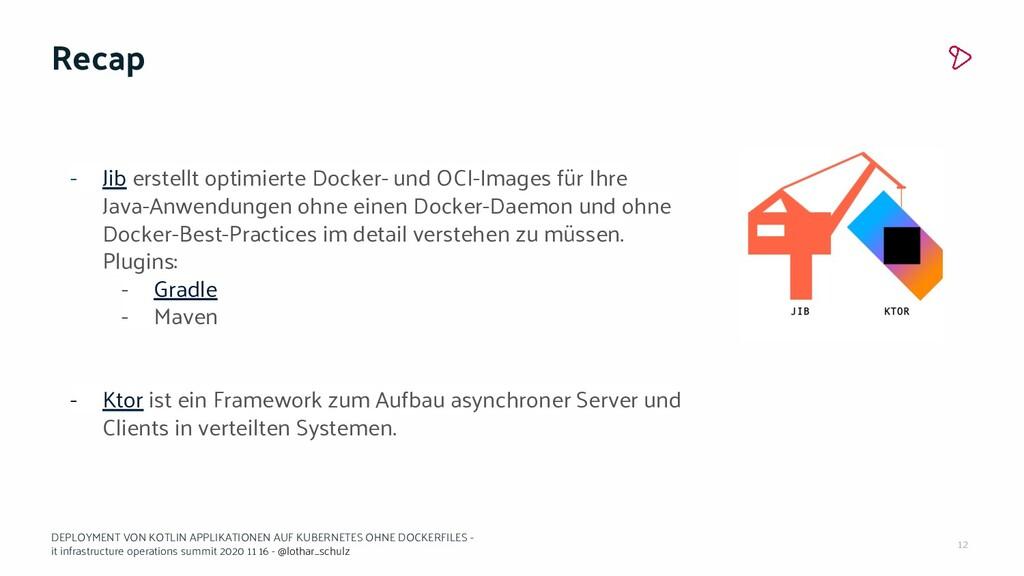 12 Recap - Jib erstellt optimierte Docker- und ...