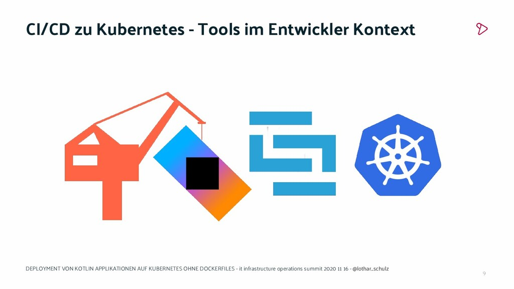 9 CI/CD zu Kubernetes - Tools im Entwickler Kon...