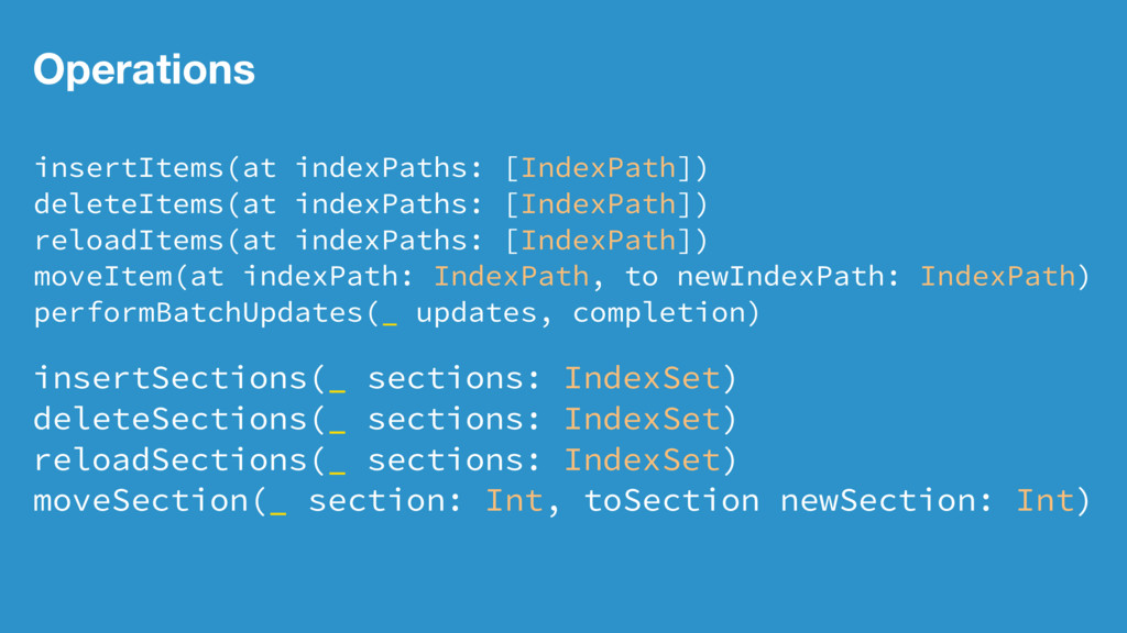 Operations insertItems(at indexPaths: [IndexPat...