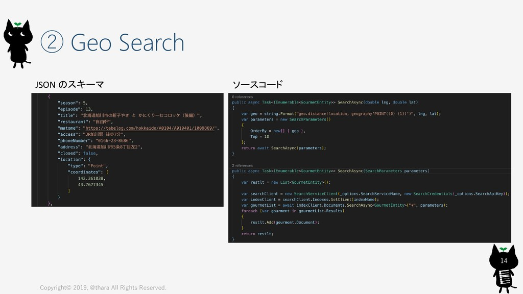 ② Geo Search Copyright© 2019, @thara All Rights...