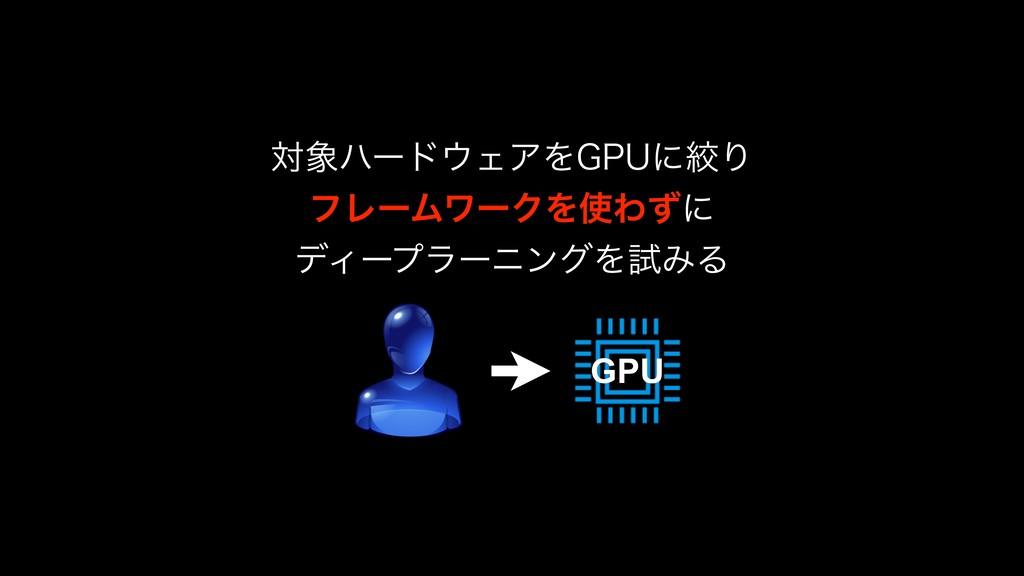 GPU ରϋʔυΣΞΛ(16ʹߜΓ ϑϨʔϜϫʔΫΛΘͣʹ σΟʔϓϥʔχϯάΛࢼΈΔ