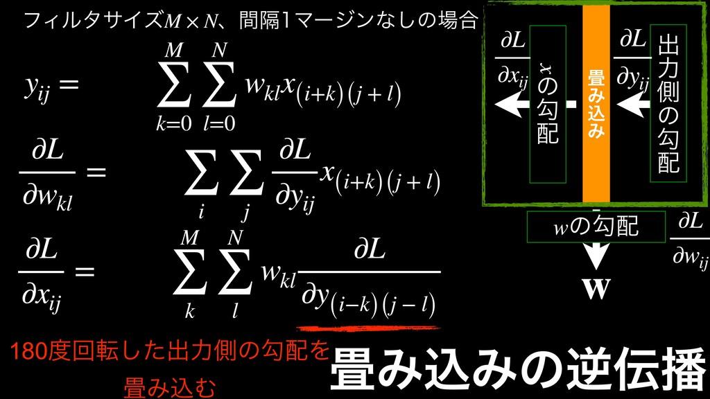 yij = M ∑ k=0 N ∑ l=0 wkl x (i+k)(j + l) ϑΟϧλαΠ...