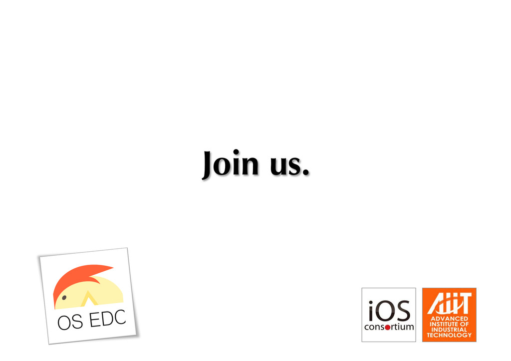 Join us.