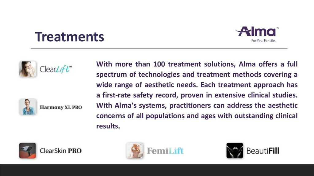 Treatments With more than 100 treatment solutio...