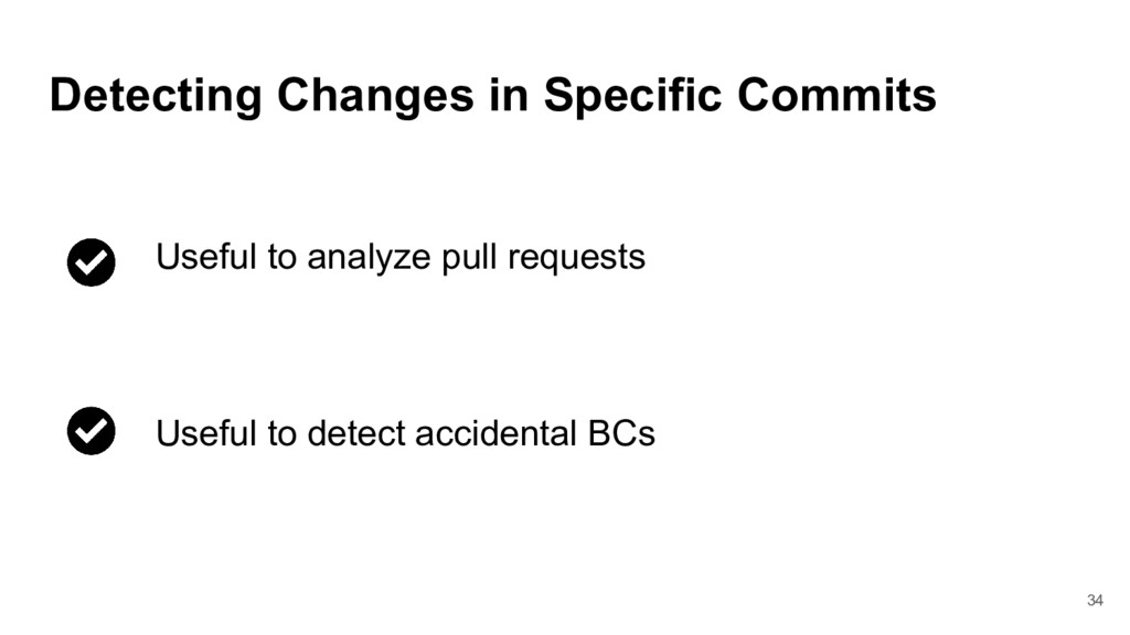34 Detecting Changes in Specific Commits Useful...