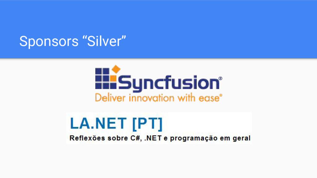 "Sponsors ""Silver"""