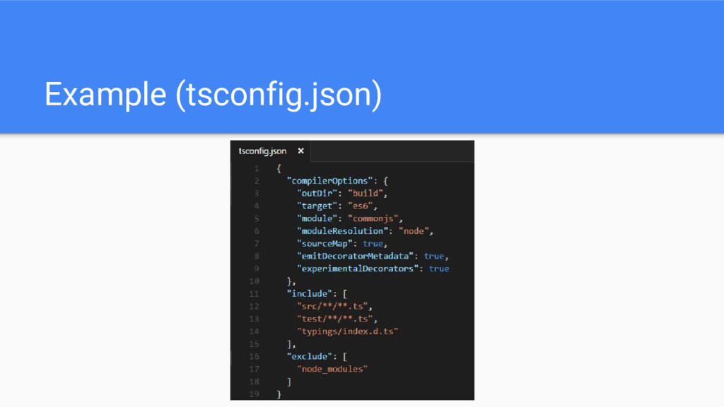 Example (tsconfig.json)