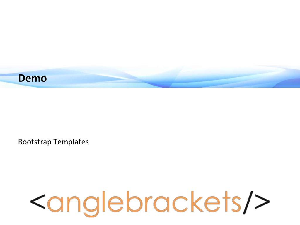 Demo Bootstrap Templates