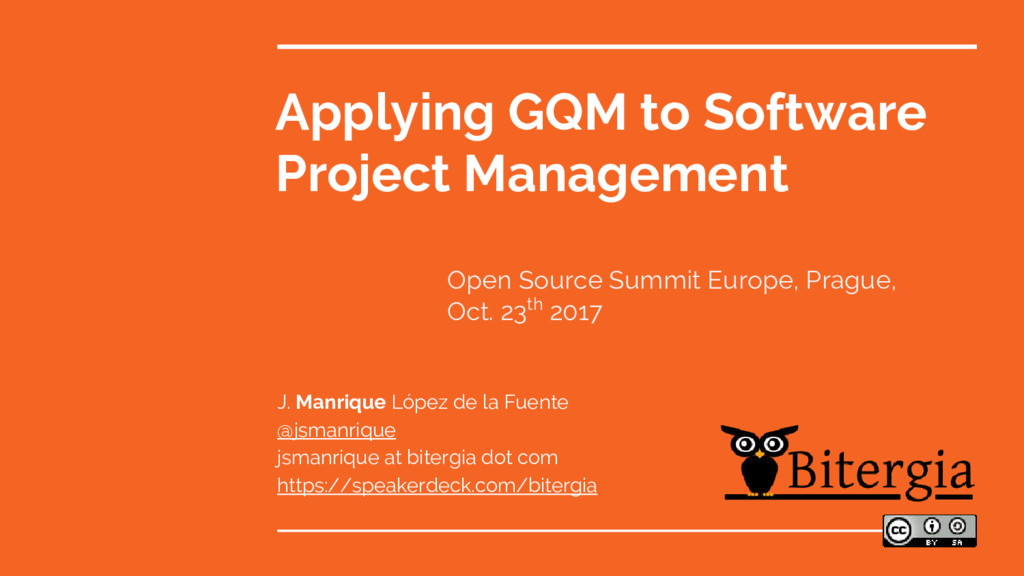 Applying GQM to Software Project Management J. ...