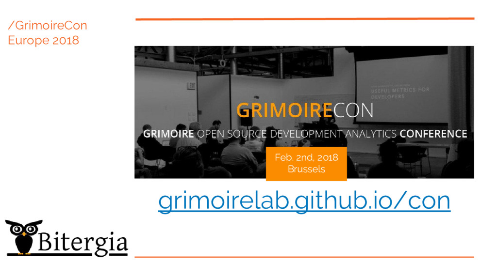 /GrimoireCon Europe 2018 Feb. 2nd, 2018 Brussel...