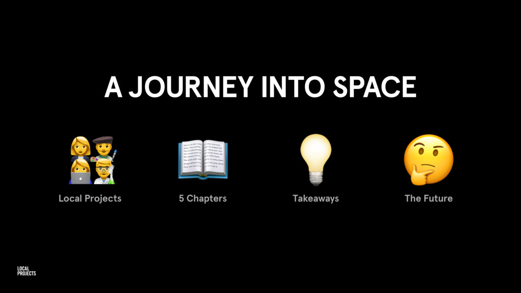 A JOURNEY INTO SPACE Local Projects   5 Chapter...
