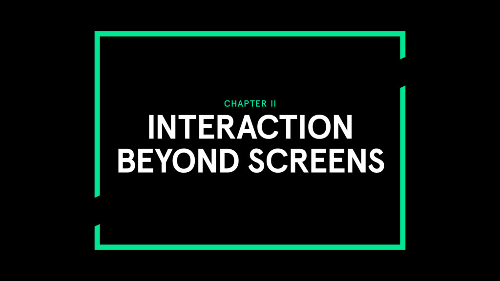 CHAPTER II INTERACTION