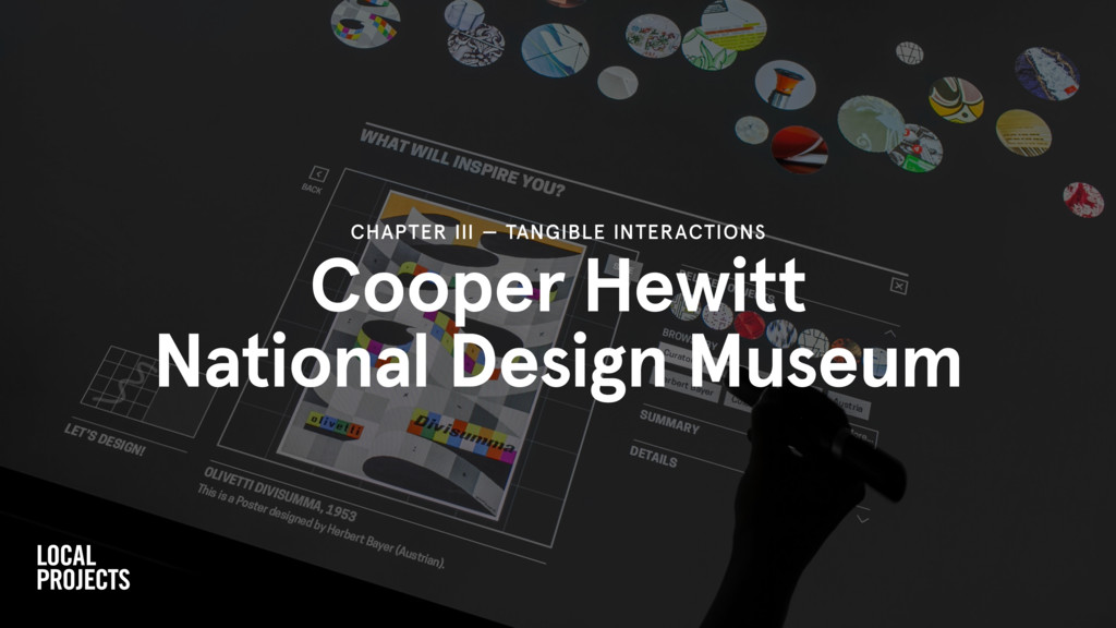 Cooper Hewitt National Design Museum CHAPTER II...
