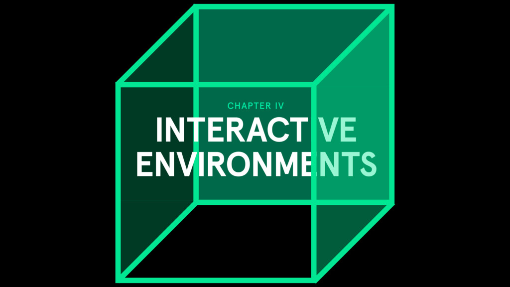 CHAPTER IV INTERACTIVE ENVIRONMENTS