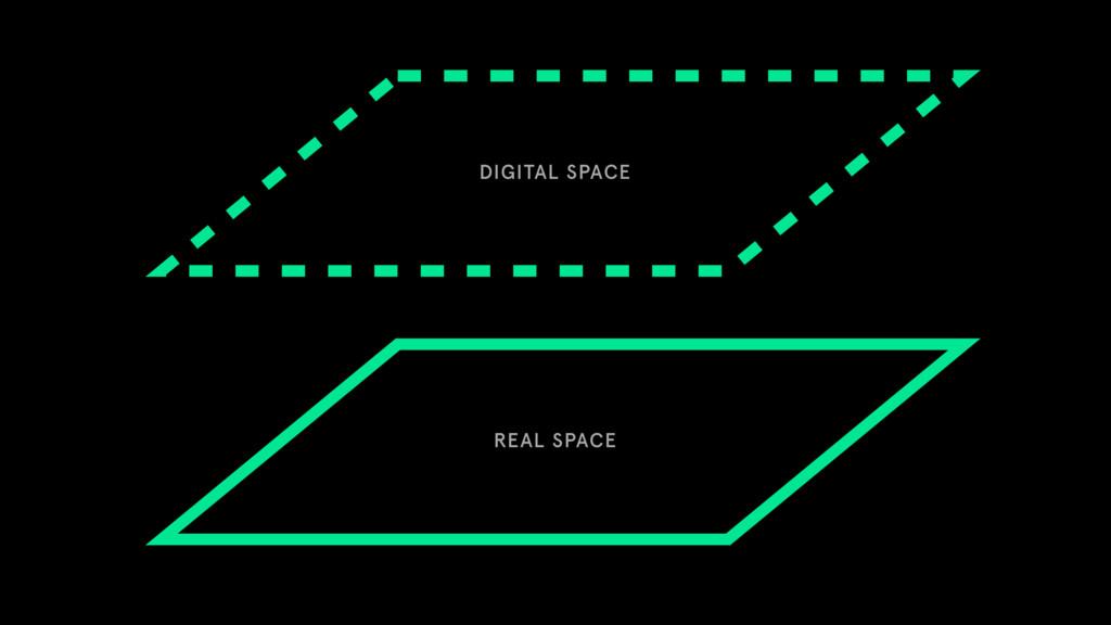 REAL SPACE DIGITAL SPACE