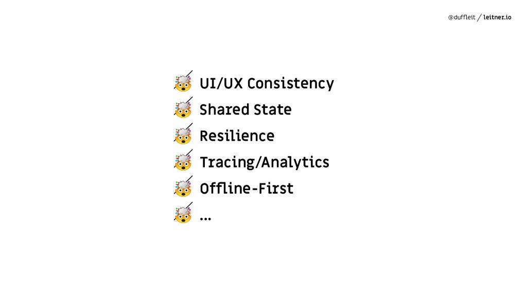 @duffleit leitner.io  UI/UX Consistency  Shared ...