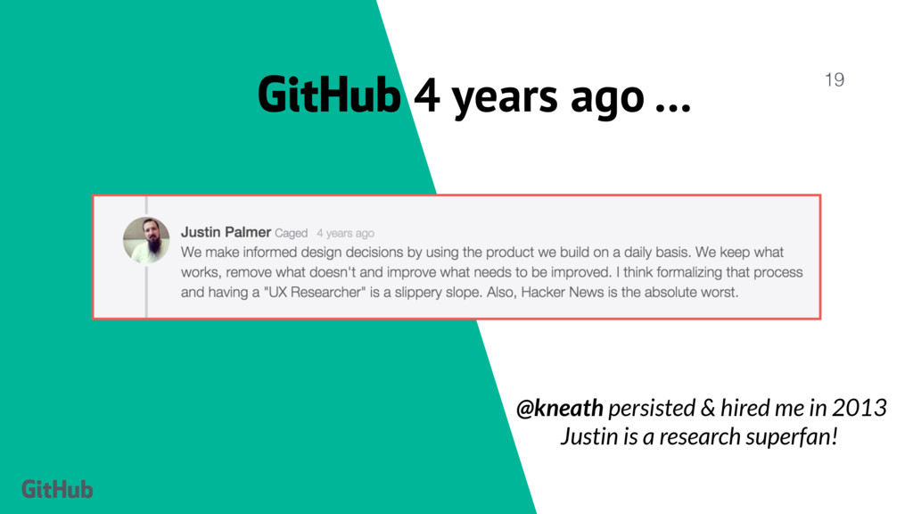 GitHub 4 years ago … 19 @kneath persisted & hir...