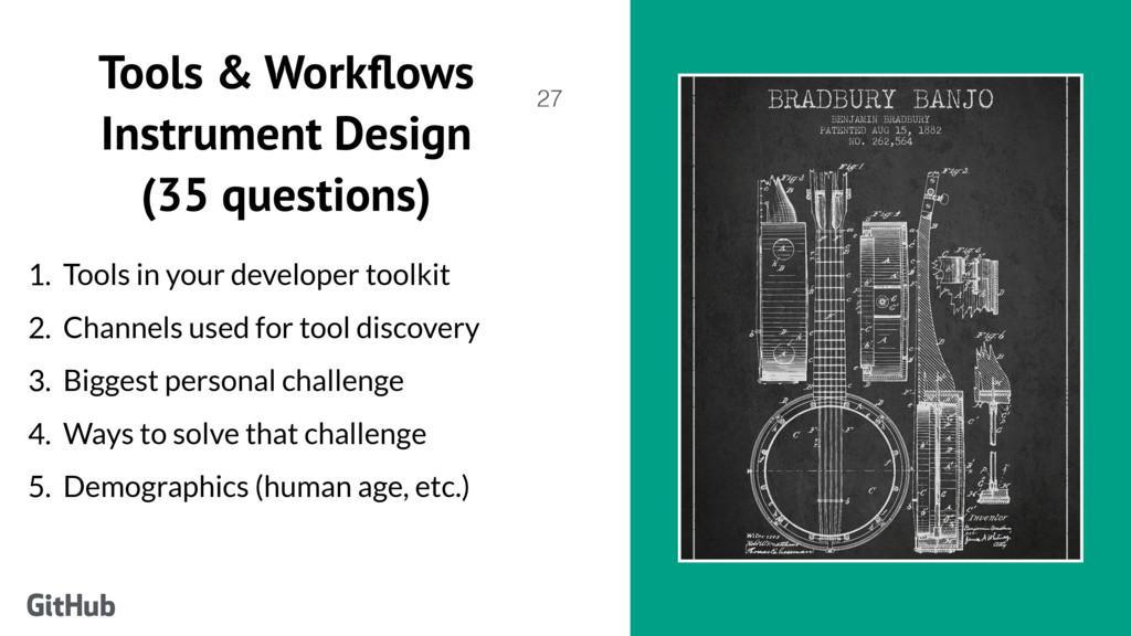 Tools & Workflows Instrument Design (35 questio...