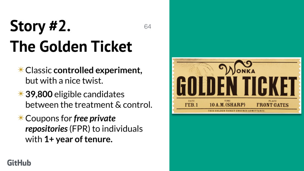 Story #2. The Golden Ticket ✴Classic controlled...