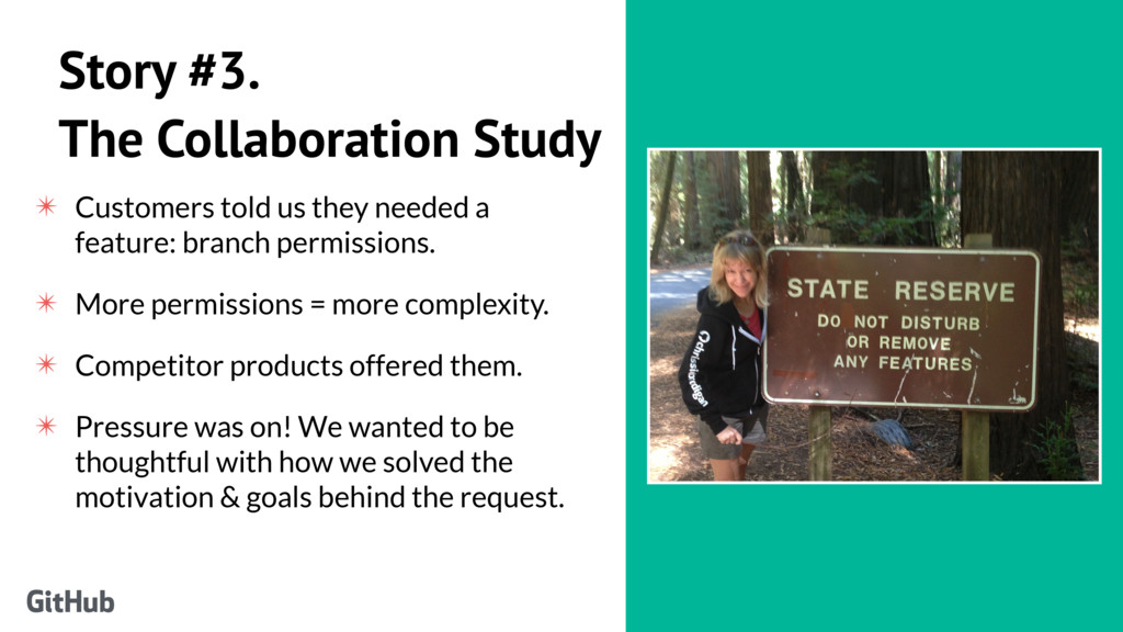 Story #3. The Collaboration Study ✴ Customers t...