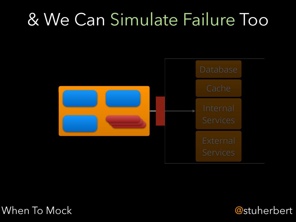 @stuherbert & We Can Simulate Failure Too When ...