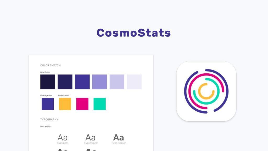 CosmoStats