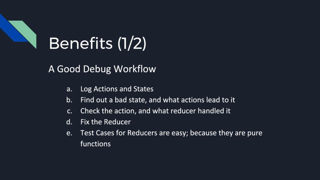 Benefits (1/2)