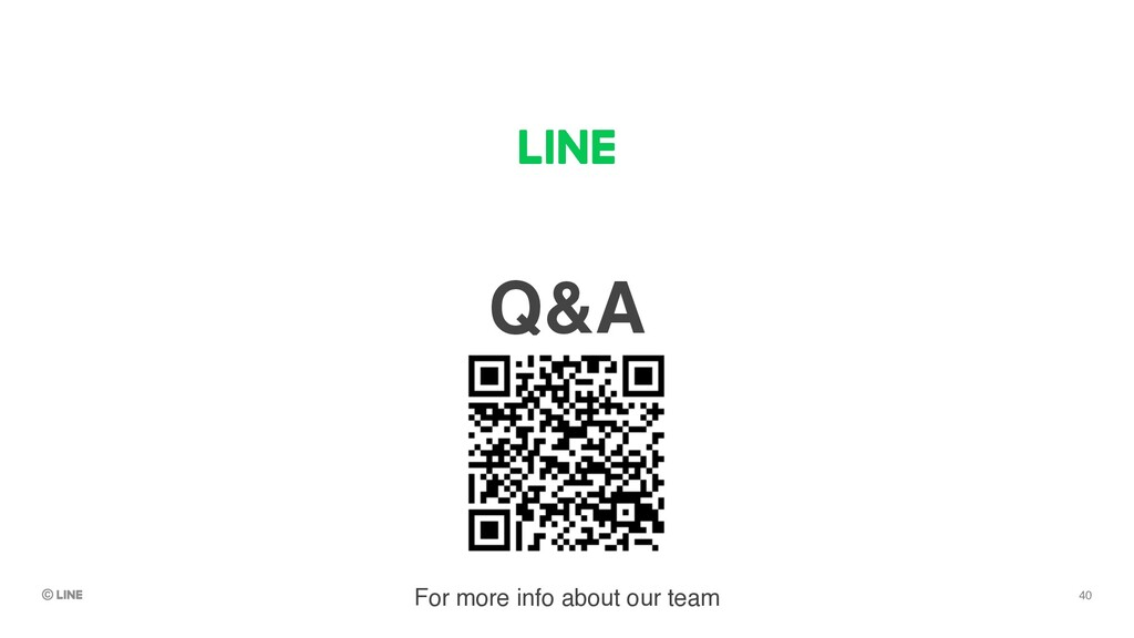 Q&A For more info about our team 40