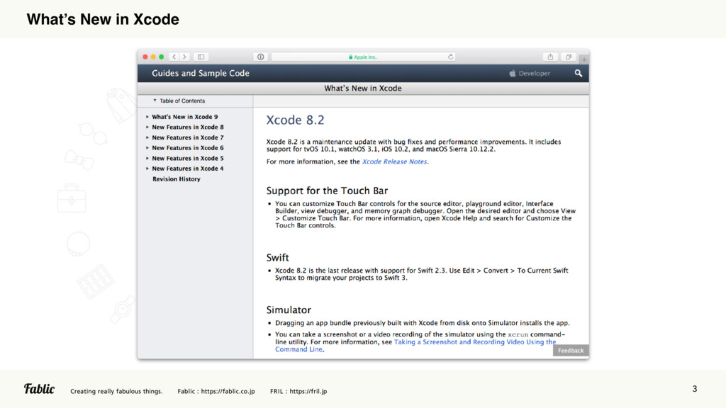 3 What's New in Xcode