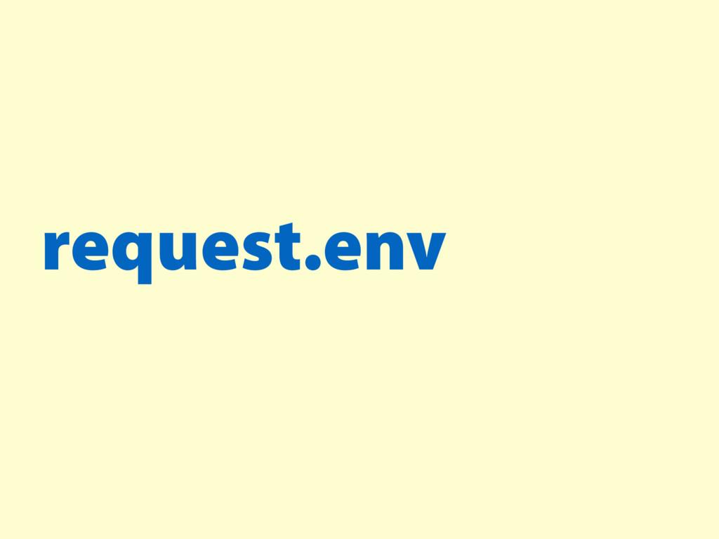 request.env