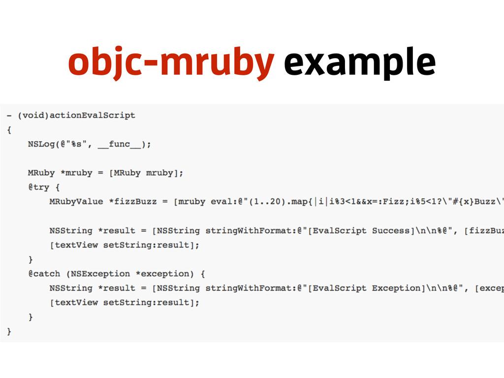 objc-mruby example