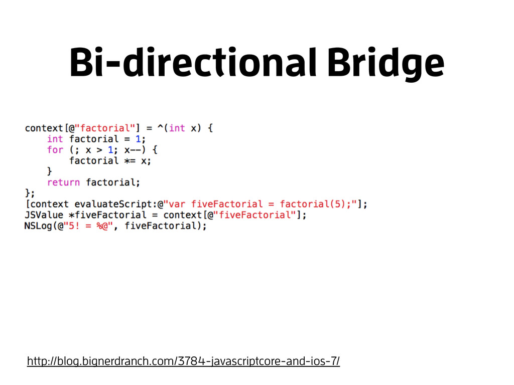 Bi-directional Bridge http://blog.bignerdranch....