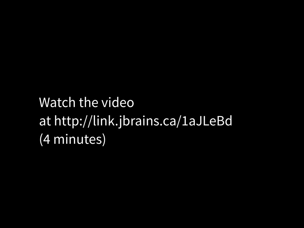 Watch the video at http://link.jbrains.ca/1aJLe...