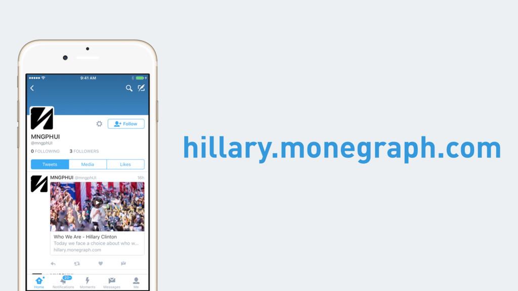 hillary.monegraph.com