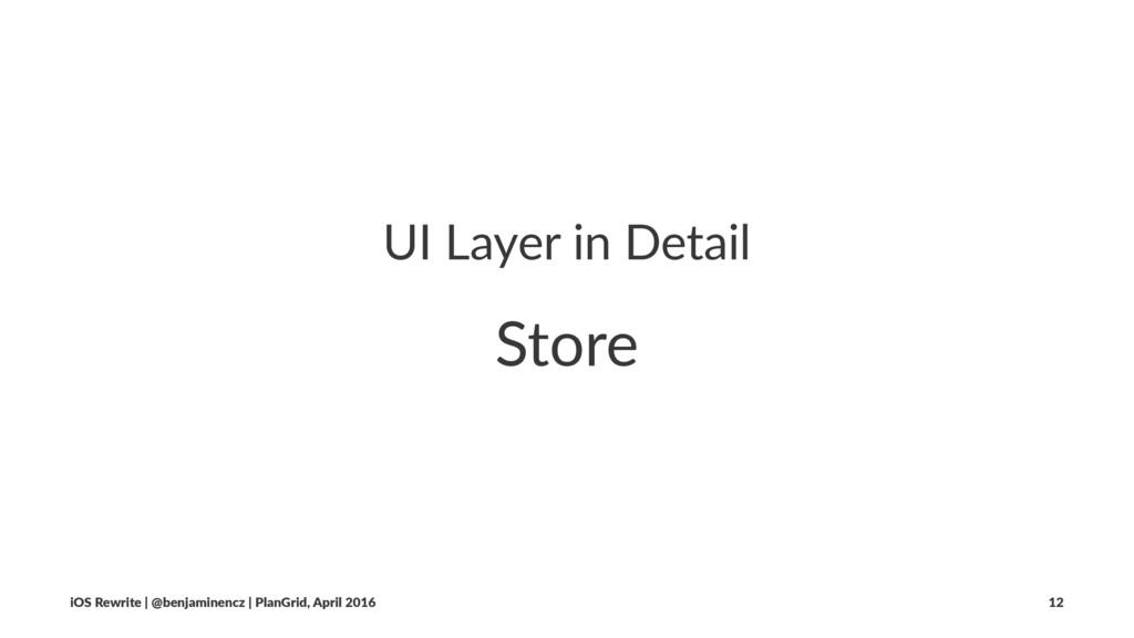 UI Layer in Detail Store iOS Rewrite | @benjami...