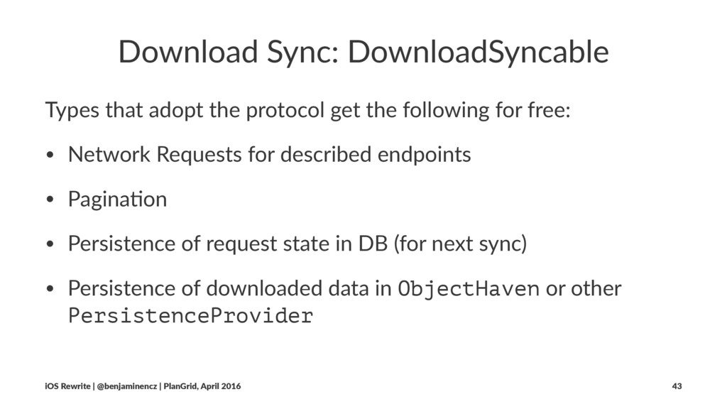Download Sync: DownloadSyncable Types that adop...