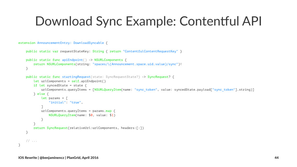 Download Sync Example: Conten4ul API extension ...
