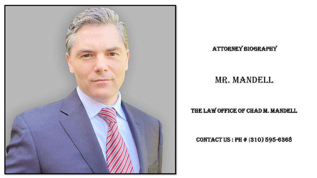 Mr. Mandell Attorney Biography The Law Office o...
