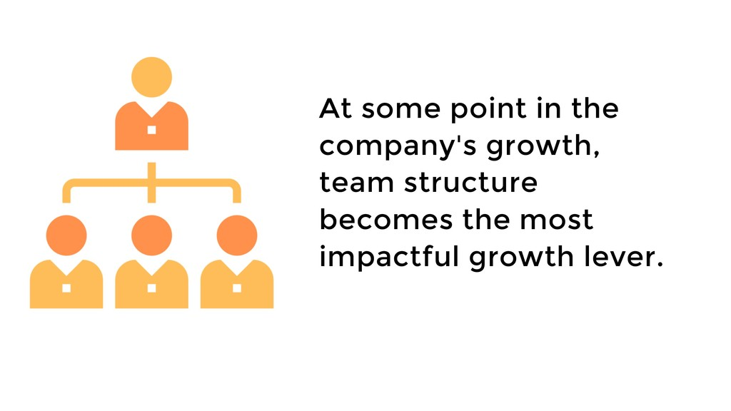At some point in the company's growth, team str...