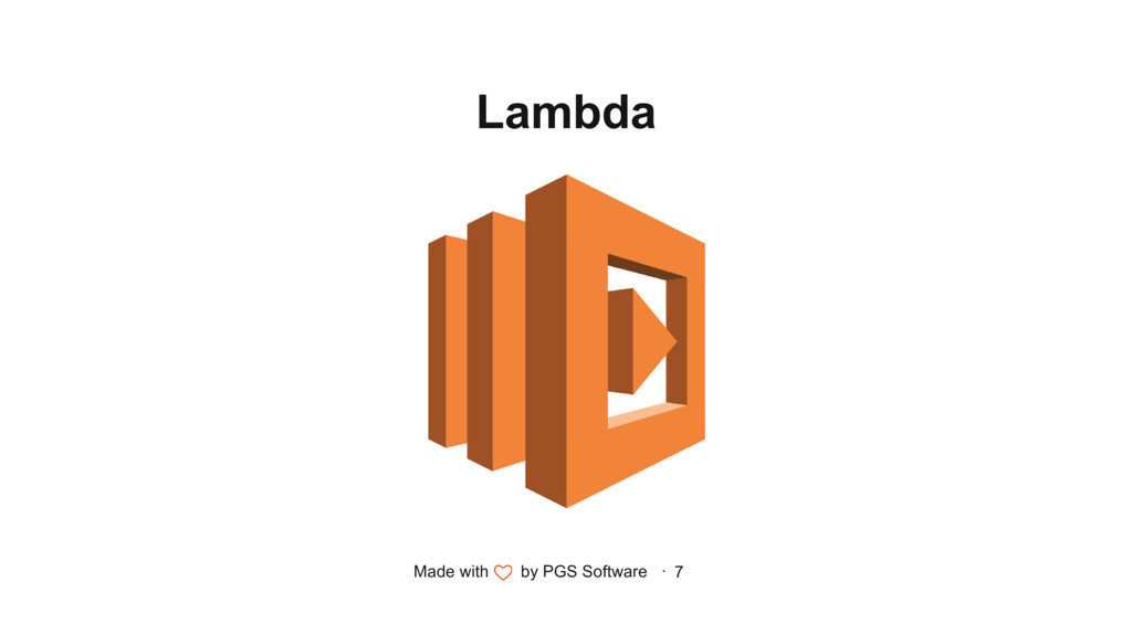 Made with by PGS Software · 7 Lambda